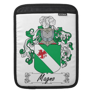 Magno Family Crest iPad Sleeve