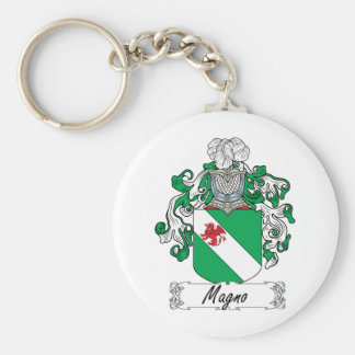 Magno Family Crest Keychain