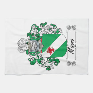 Magno Family Crest Hand Towel