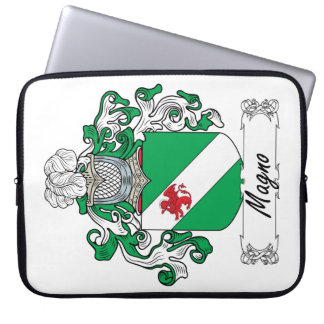 Magno Family Crest Laptop Sleeves