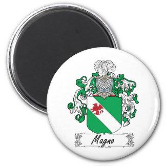 Magno Family Crest Fridge Magnet