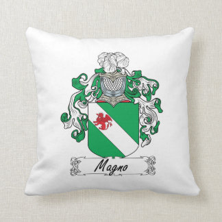 Magno Family Crest Pillow