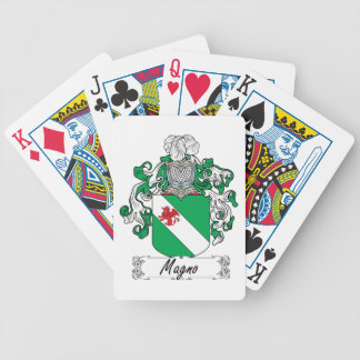 Magno Family Crest Deck Of Cards