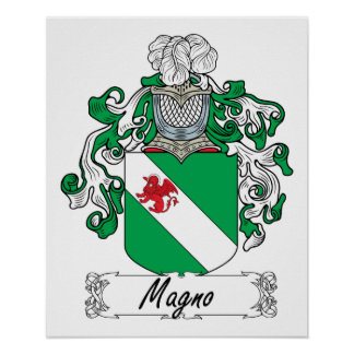 Magno Family Crest Posters