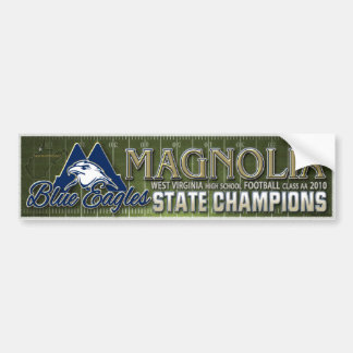 Magnolia 2010 Champs Bumper Sticker