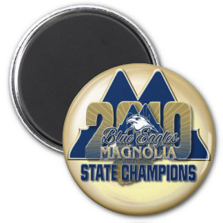 Magnolia 2010 Champs Gold Magnet