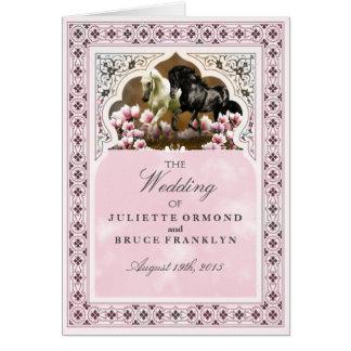 Magnolia Alley - Wedding Program Card