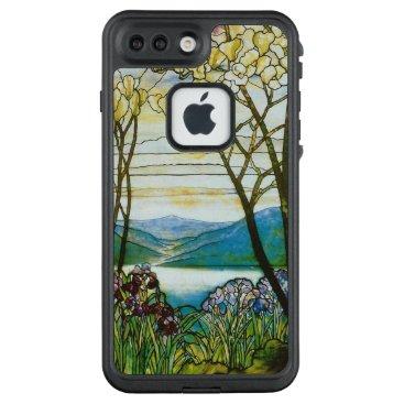 McTiffany Tiffany Aqua Magnolia and Iris Scenic Inspiration LifeProof FRĒ iPhone 7 Plus Case