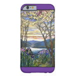 Magnolia and Iris Stained Glass Window Barely There iPhone 6 Case