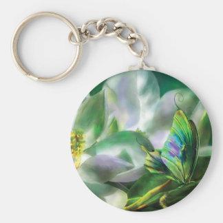 Magnolia Art Keychain