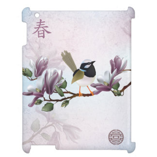 "Magnolia bird ""Spring"" Case For The iPad 2 3 4"