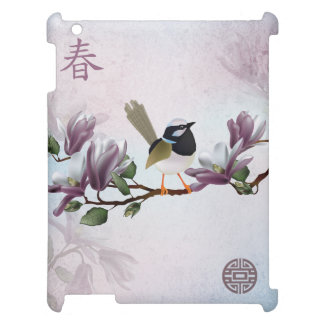 "Magnolia bird ""Spring"" iPad Cases"