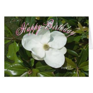 Magnolia Birthday-add your words Card