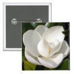 Magnolia Bloom 2 Inch Square Button