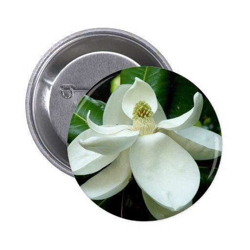 Magnolia Bloom Button