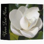 Magnolia Bloom Customizable Binder
