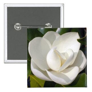 Magnolia Bloom Pinback Button
