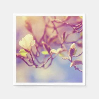 Magnolia Bloosom. Pink Spring in Amsterdam Napkin