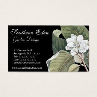 Magnolia Blossom Business Card - Garden Designer