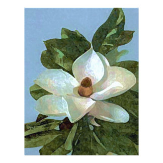 Magnolia Blossom Flower Flyer