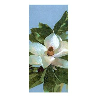 Magnolia Blossom Flower Rack Card