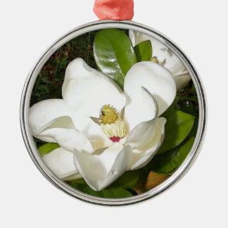 Magnolia Blossom Metal Ornament