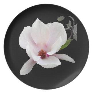 Magnolia Blossom Portrait Plate
