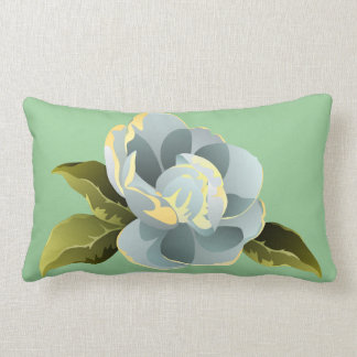 Magnolia Blossom with Leaves Pillows