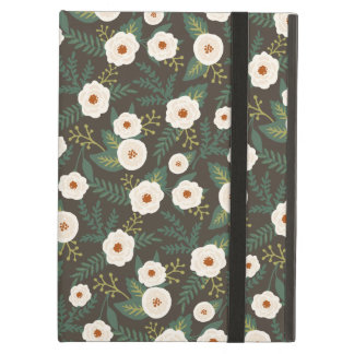 Magnolia Blossoms Floral Cover For iPad Air