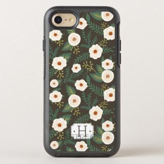 Magnolia Blossoms Monogram OtterBox Symmetry iPhone 7 Case