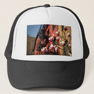 Magnolia Blossoms - New York City Trucker Hat