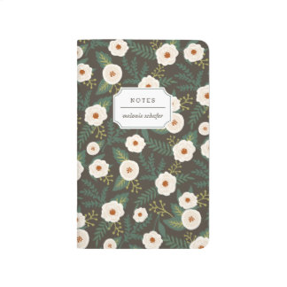 Magnolia Blossoms Personalized Journal