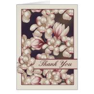 Magnolia Blossoms Thank You Cards Magnolias