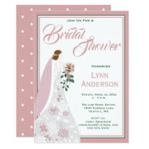 Magnolia Blush - Bridal Shower Invitation
