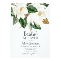 Magnolia Bridal Shower Invitations, Invitation