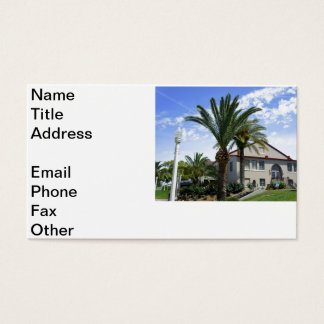 Magnolia Building Business Card