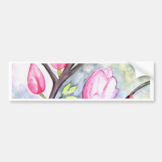 Magnolia Car Bumper Sticker