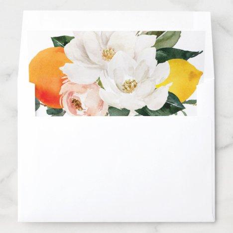 Magnolia Citrus Envelope Liner