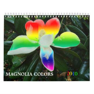 """"""" Magnolia Colors """" Calendar"""