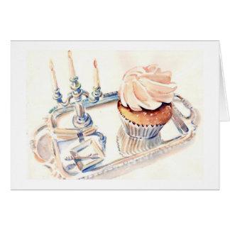 Magnolia Cupcake Greeting Card