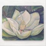 Magnolia de acero alfombrillas de raton