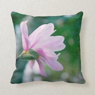 Magnolia de la bailarina cojines