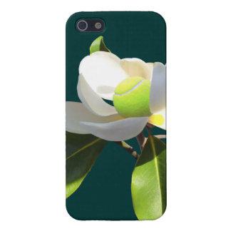 Magnolia del tenis iPhone 5 carcasa