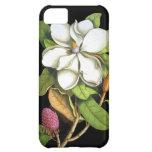 Magnolia del vintage botánica funda para iPhone 5C