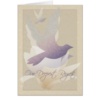 Magnolia Doves - Our Deepest Regrets Card