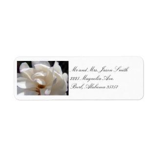 Magnolia Dream Wedding 2 Address labels