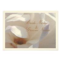 Magnolia Dream Wedding Personalized Announcement
