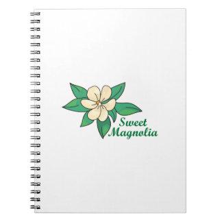 Magnolia dulce notebook