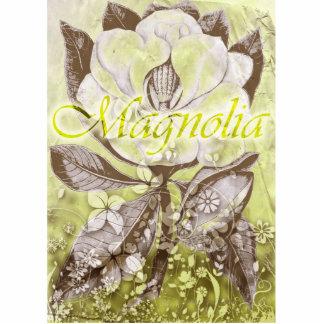 Magnolia Escultura Fotografica