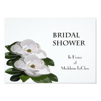 Magnolia Flower Bridal Shower Invitation